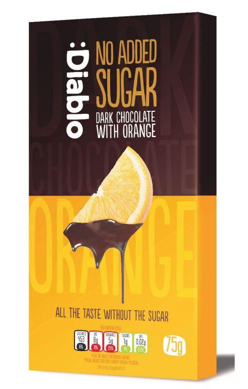 Dark Chocolate with Orange 75g x 40