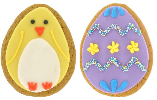 Iced Gingerbread Easter Egg and Chick 75g x 12