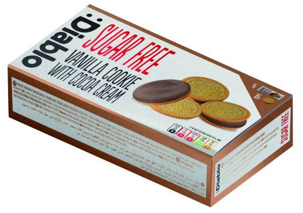 Vanilla Sandwich Cookies 176g x 12