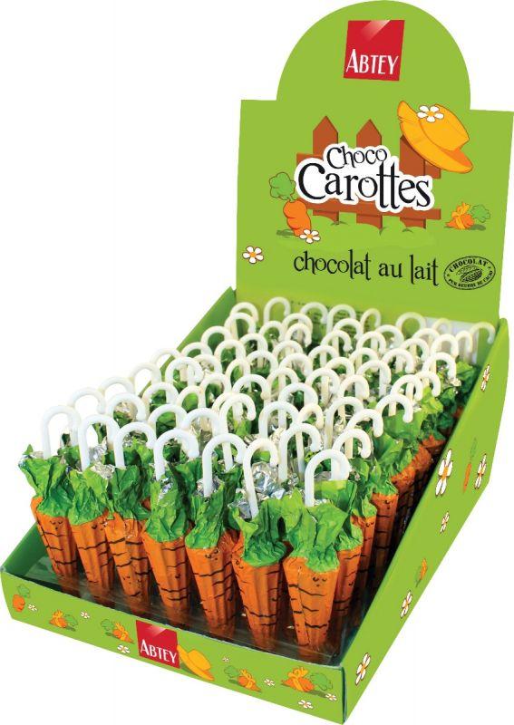 Display of Carrot Umbrellas 12g x 70