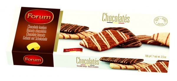 Chocolate Biscuits 100g x 12