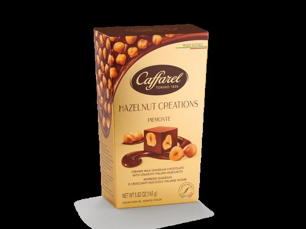 Caffarel Hazelnut Creations Piemonte Cornet 165g x 8