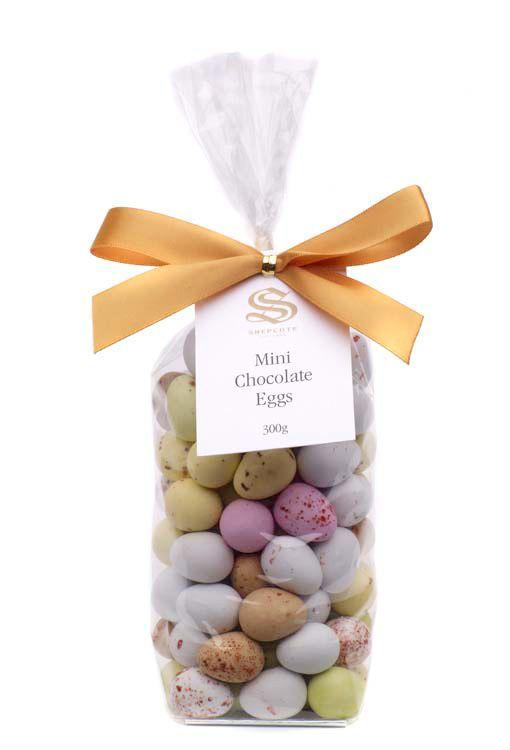 Mini Chocolate Eggs Bag 300g x 12