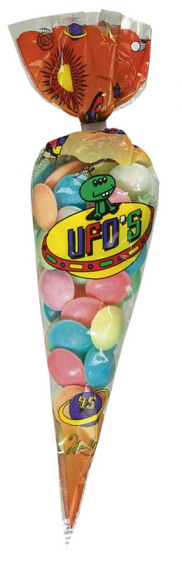 Sherbet Flying Saucers (Cone of 45) 55g x 24