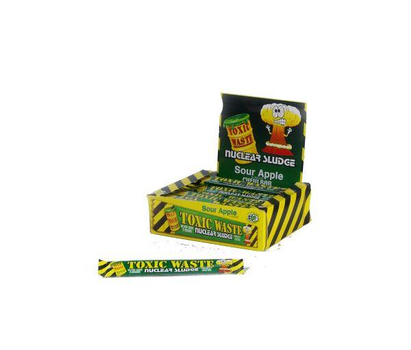 Toxic Waste Apple Nuclear Sludge Chew Bar 20g x 50