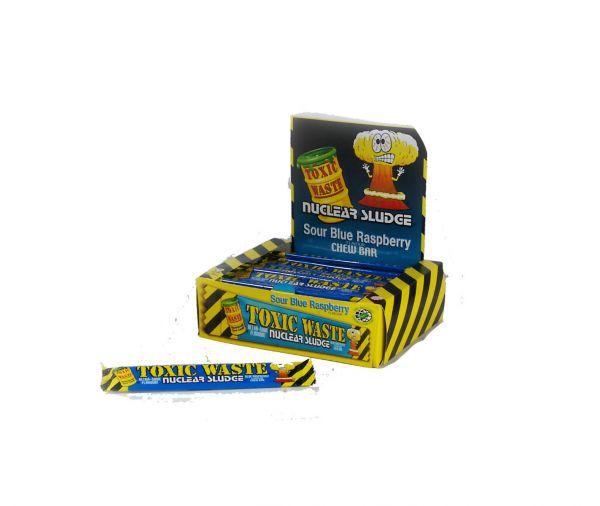 Toxic Waste Blue Raspberry Nuclear Sludge Chew Bar 20g x 50
