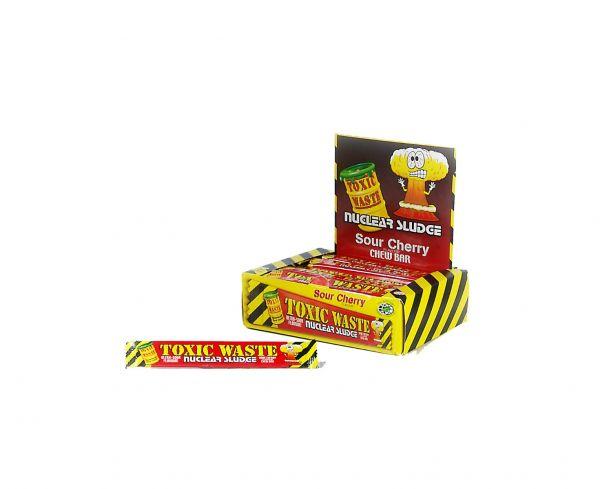 Toxic Waste Cherry Nuclear Sludge Chew Bar 20g x 50