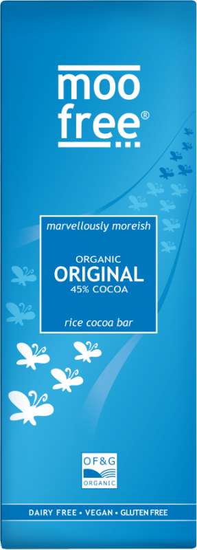 Organic Original 45% Ccoca Rice Milk Bar 80g x 12