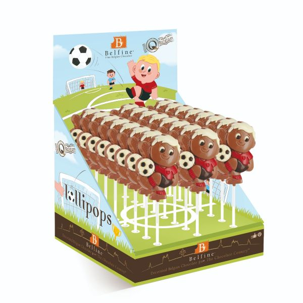Footballer Lolly (Red) 35g x 21
