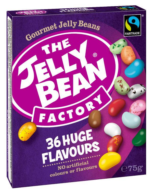 Jelly Bean Factory Gourmet Box *Fair Trade 75g x 16 DATED 15.11.2021