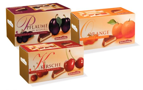 Mixed Case of Marzipan & Fruit 300g x 20 - contains: