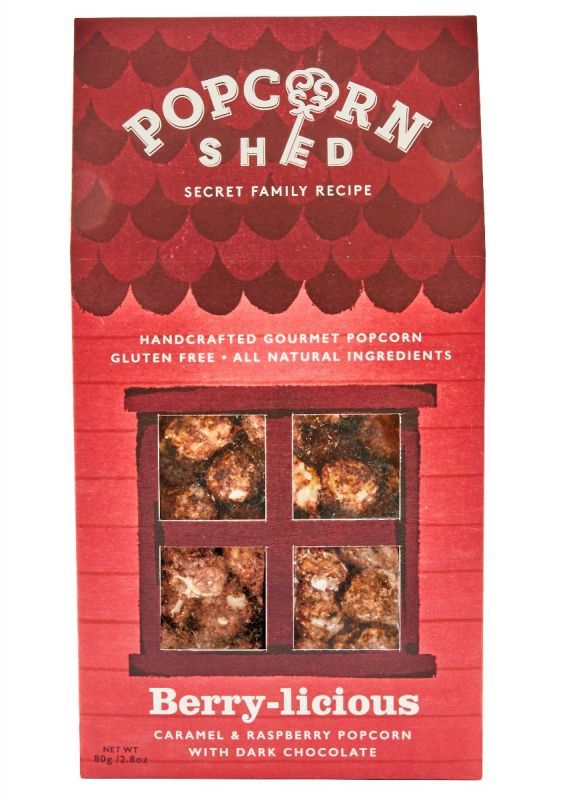 Berry-licious Popcorn Shed 80g x 10