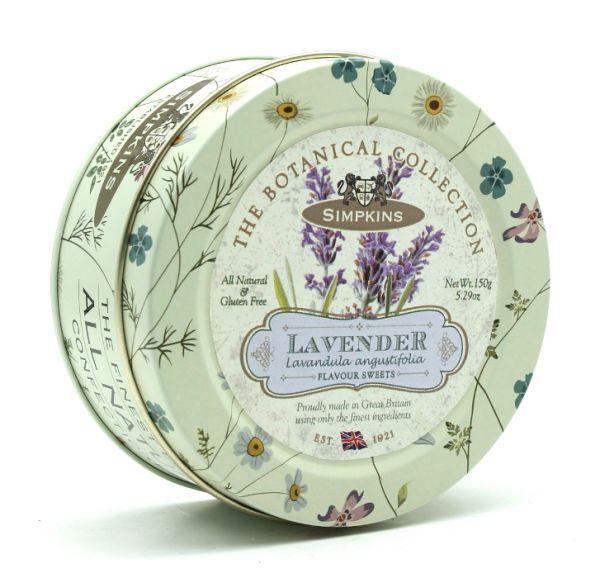 Botanical Tin Lavender Drops 150g x 10