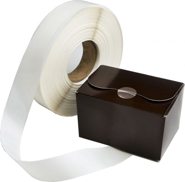 TAMPER EVIDENT SEALING TAB 50mm x 2000 (1 Roll)