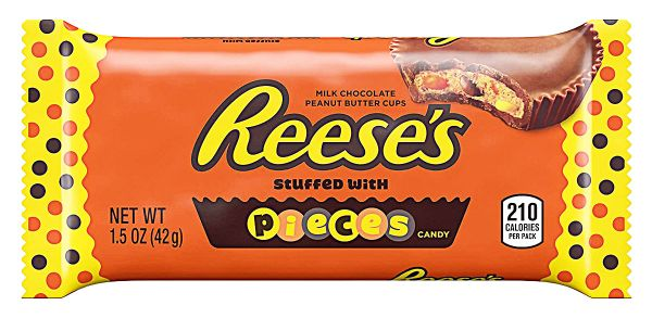 Reese's Peanut Butter Cups with Reese's Pieces 42g x 24