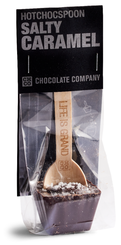 Salty Caramel Spoon (Dark) 50g x 20