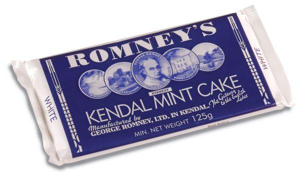 Romney's Kendal Mint Cake 125g x 24