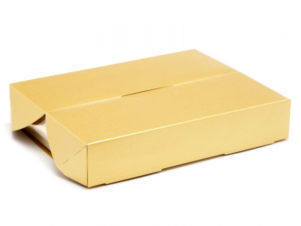 Speciality Gift Box 12 Choc  Pearl Gold (193 x 147 x 36mm) x 5