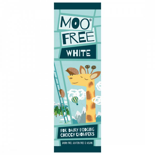 Organic Mini Moo White Choc Bar 20g x 20