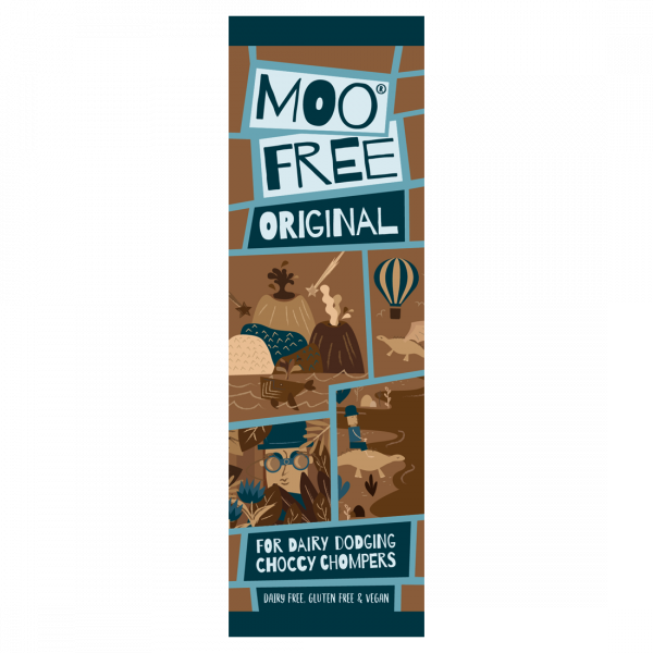Organic Mini Moo Original  Bar 20g x 20