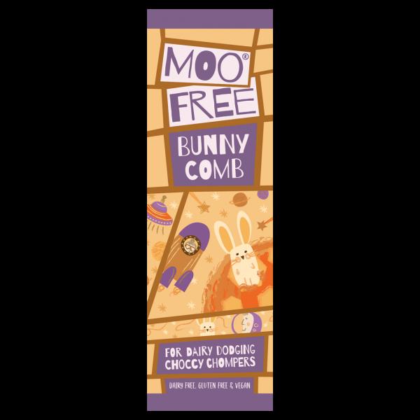Organic Mini Moo Bunnycomb Bar 20g x 20