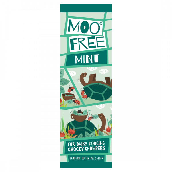 Organic Mini Moo Mint Bar 20g x 20