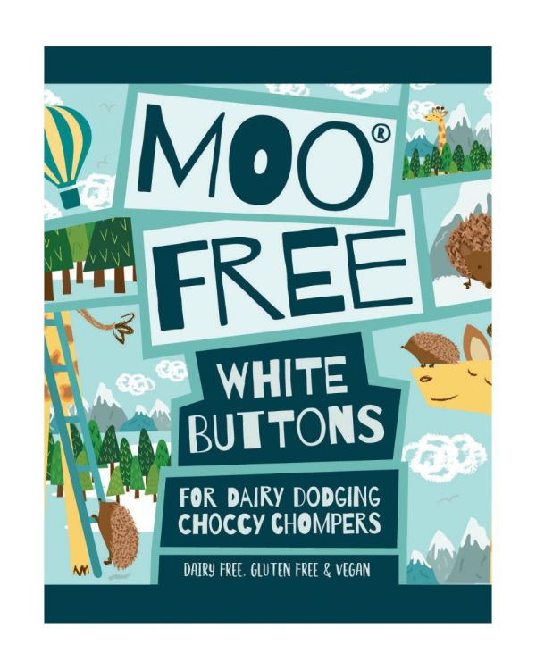 Free From White Buttons 25g x 25