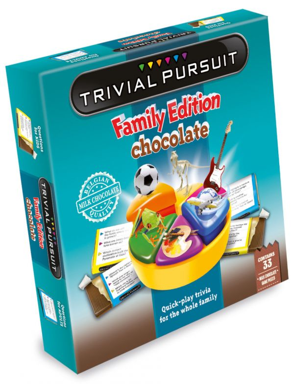 Trivial Pursuit with Chocolate Pieces 154g x 6 DATED 01.02.2021