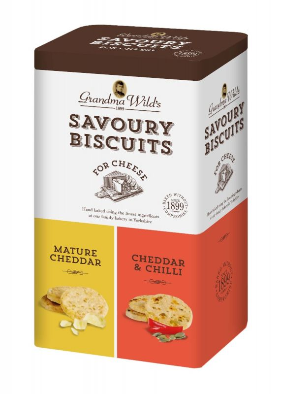 Oaty Biscuits for Cheese Tin 230g x 6  Zero VAT