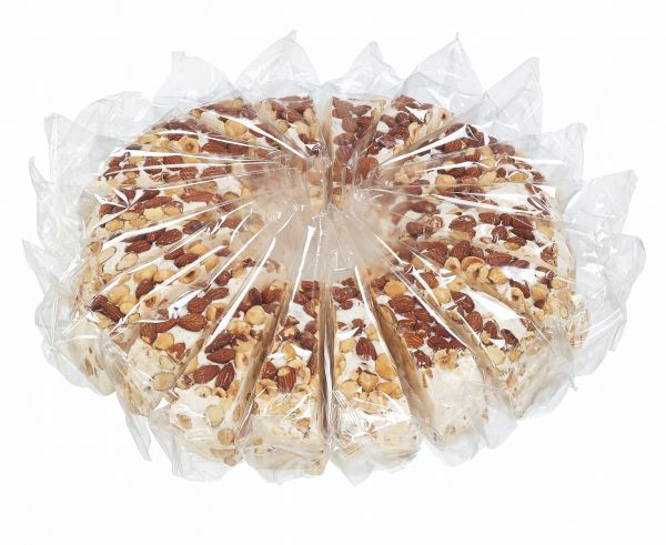 Soft Nougat Cake (with almonds and hazelnuts) 150g x 20 slices