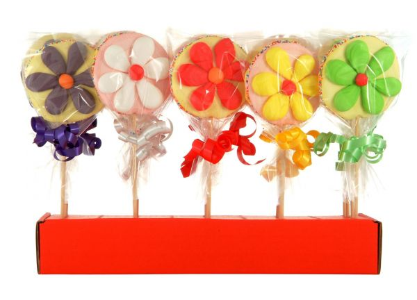 Iced Flower Lollies 38g x 24