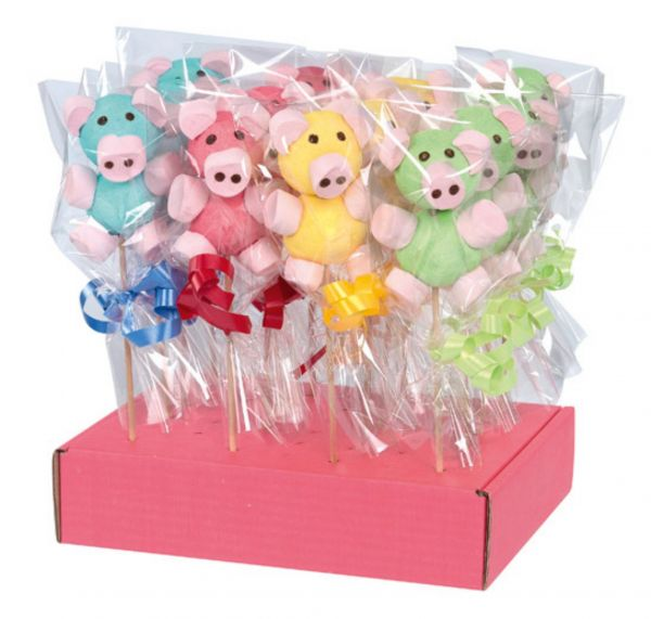 Rainbow Piggy Lolly 29g x 25