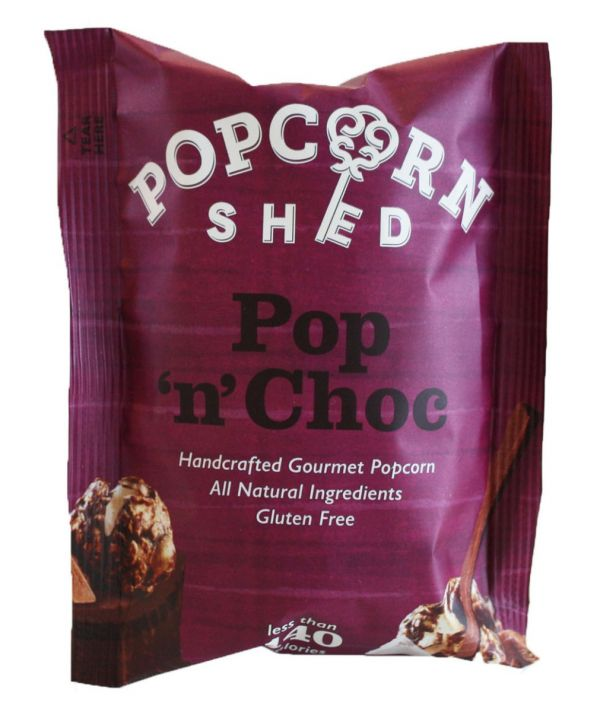 Milk Chocolate Pop 'n' Choc Popcorn Shed 24g x 16
