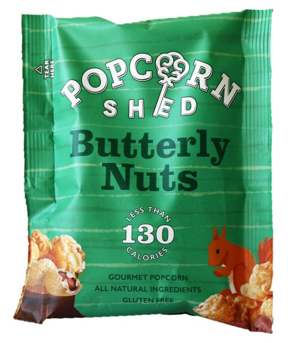 Butterly Nuts Popcorn Shed 26g x 16