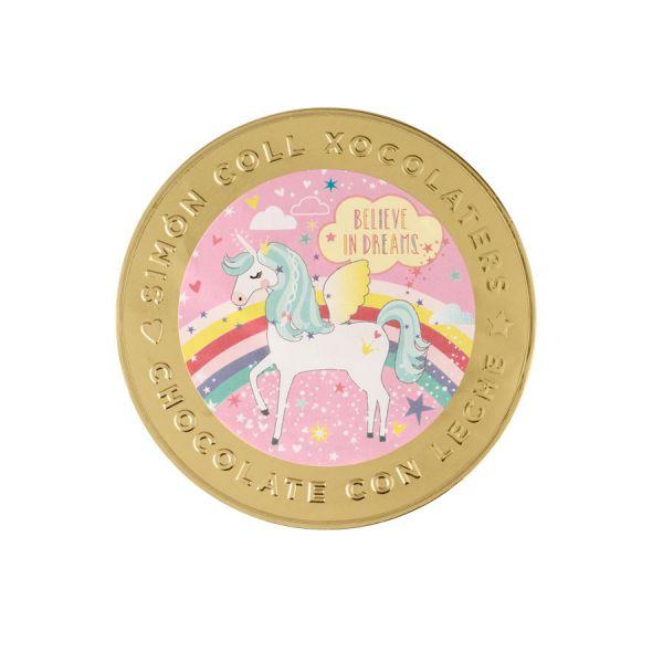 Unicorn Medallion 100mm 60g x 14