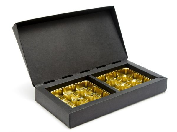 Deluxe Gift Boxes 18 Choc ( 280 x 141 x 35mm) x 5