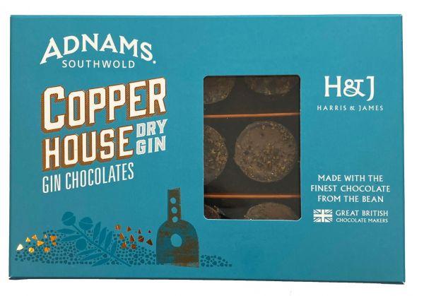 Adnams Copper House Gin Chocolates 180g x 8