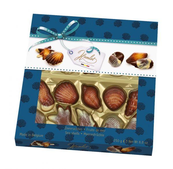 Sea Shells Hazelnut Filling 250g x 12