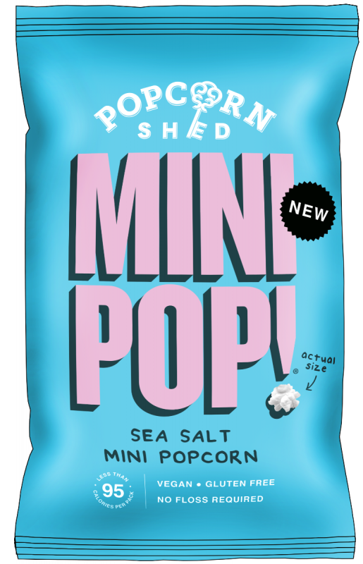 Mini Pop! Sea Salted 20g x 24