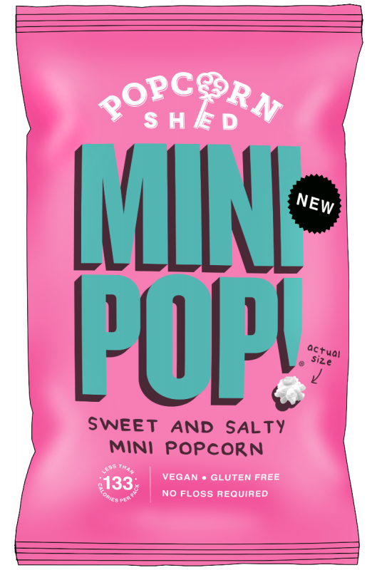 Mini Pop! Sweet & Salty 28g x 24