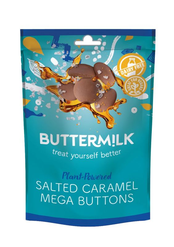 Plant Powered Salted Caramel Mega Buttons 42g x 12