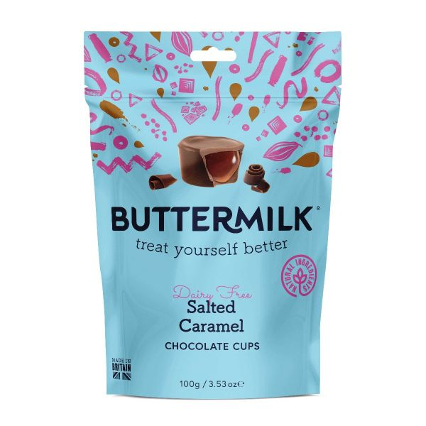 Dairy Free Salted Caramel Cups 100g x 7