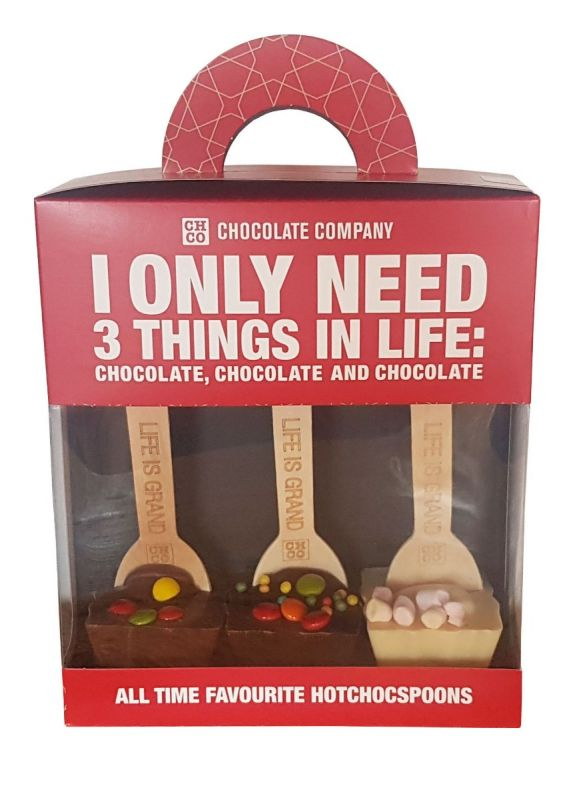 Kids Delight Chocolate Spoon Trio Gift Pack 150g x 5
