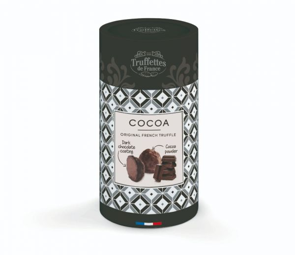 Chocolate Pearls Dusted with Bitter Cocoa Powder 130g x 12