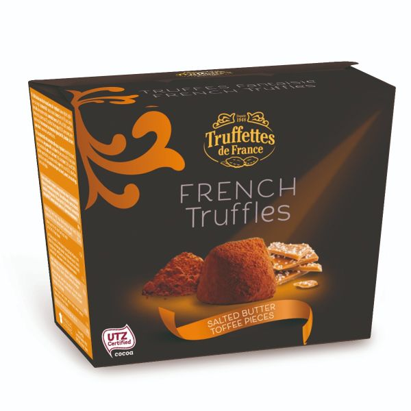 French Truffles - Salted Butter Toffee 200g x 24