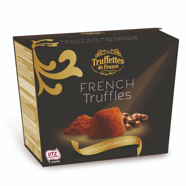 French truffles - Coffee flavoured pieces 200g x 24