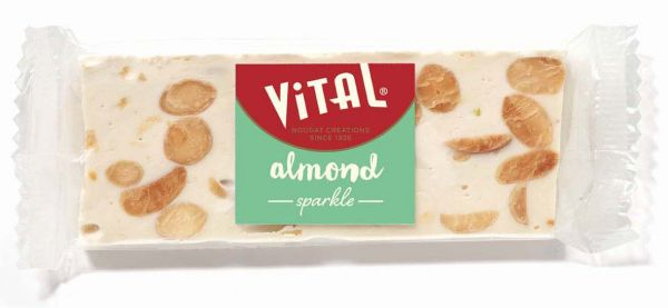 SRP Soft Nougat Bar with Almonds 45g x 15
