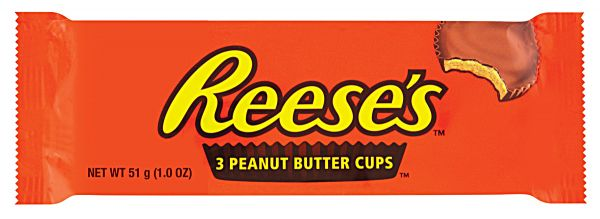 Reese's 3 Peanut Butter Cups 51g x 24