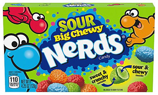 Sour Big Chewy Nerds 120g x 12