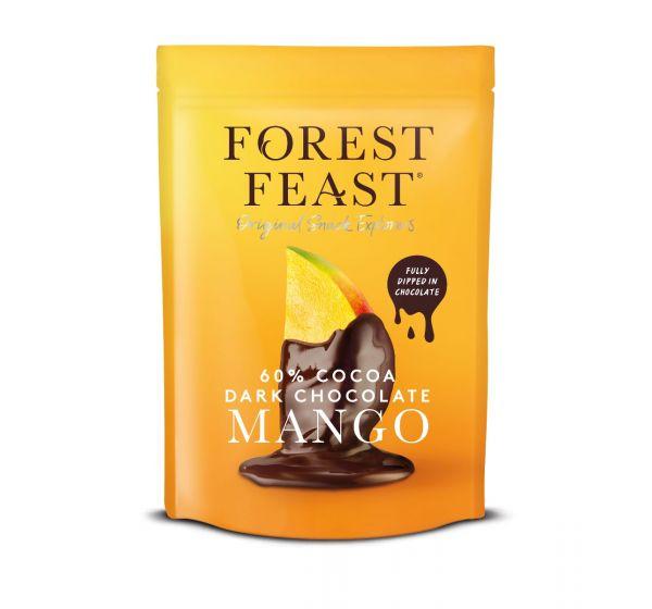 Forest Feast Dark Chocolate Mangos 100g x 6